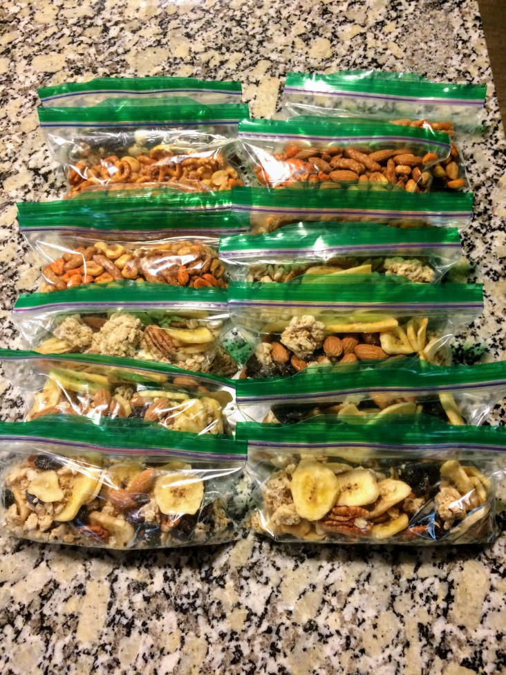 Separate Into Snack Size Bags